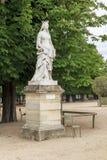 Статуя в саде Luxembourgh Стоковые Изображения