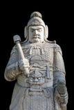 Статуя в усыпальницах Ming пути бога, Пекин камня офицера армии Стоковые Изображения