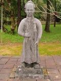 Статуя в усыпальнице императора Вьетнама Стоковая Фотография