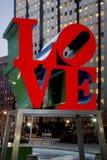Статуя влюбленности Филадельфии Стоковые Изображения
