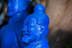 Статуя в Budha Eden Park, в Португалии стоковая фотография rf