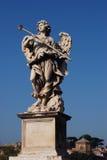 Статуя в Castel Sant'Angelo стоковые изображения rf