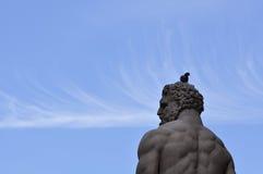 Статуя в della Signoria аркады Стоковое Изображение RF