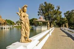 Статуя в PA челки в дворце стоковое фото