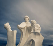 Статуя в Ushuaia Стоковое фото RF