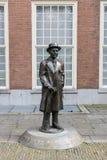 Статуя Гаага Луис Couperus Стоковые Изображения RF