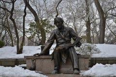 Статуя Ганс Кристиан Андерсен Стоковое фото RF