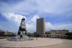 Статуя генерал - майор Maximo Gomez Стоковые Изображения RF