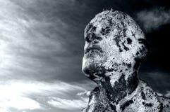 статуя голода dublin Стоковое Изображение RF