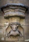 Статуя горгульи Стоковые Изображения RF