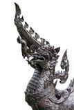 Статуя головы Naka в белизне Стоковые Изображения