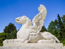 Статуя грифона Существования грифонов ismythological, который подогнали Стоковые Фотографии RF