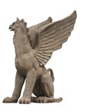 Статуя грифона Стоковые Изображения