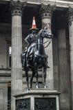 Статуя Глазго Веллингтона Стоковое Изображение RF