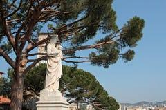 Статуя девственницы Mary стоковое фото rf