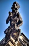 статуя демона Стоковое фото RF