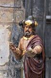 статуя детали готская Стоковые Изображения