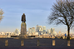 Статуя Джеймс Wolfe Стоковые Фотографии RF