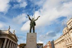 Статуя Джима Larkin. Дублин, Ирландия Стоковое Изображение RF
