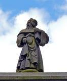 Статуя Джона Knox, Абердина, Шотландии стоковые фотографии rf