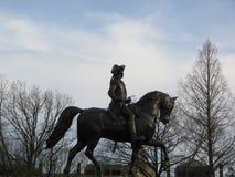 Статуя Джорджа Вашингтона, сквер Бостона, Бостон, Массачусетс, США Стоковые Изображения