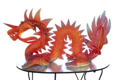 статуя дракона Стоковое фото RF