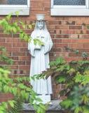 Статуя девой марии в районе церков Стоковое Фото