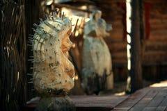 Статуя ежа Стоковая Фотография