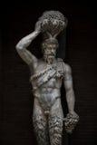 Статуя демона на Capitoline, Риме, Италии Стоковые Изображения RF