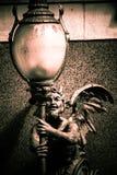 Статуя демона Стоковое Изображение