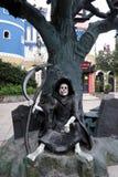 Статуя демона Стоковое Фото