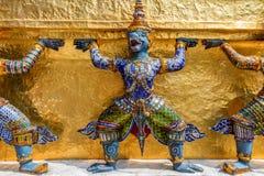 Статуя демонов Yaksha Стоковая Фотография RF