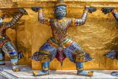 Статуя демонов Yaksha Стоковое Фото
