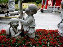 Статуя детей Стоковые Изображения