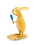 статуя зайцев Стоковая Фотография