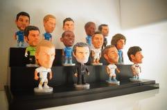 Статуя звезды футбола спорт Стоковая Фотография RF