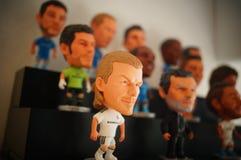 Статуя звезды футбола спорт Стоковые Изображения RF