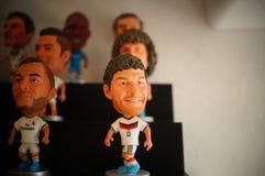 Статуя звезды футбола спорт Стоковое фото RF
