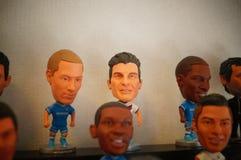 Статуя звезды футбола спорт Стоковое Изображение RF