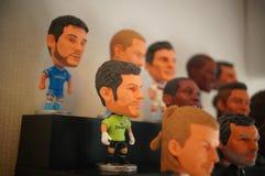 Статуя звезды футбола спорт Стоковые Фотографии RF