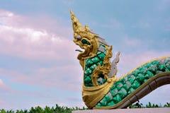 Статуя змея Будды Стоковая Фотография