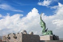 Статуя змея Стоковые Фотографии RF