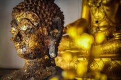 Статуя золота Будды Стоковая Фотография