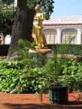 Статуя золота Стоковое Изображение