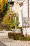 Статуя известного проводника Херберта von Karajan в саде  Стоковые Изображения RF