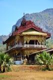 Статуя изображения Будды на монастыре Ya животиков Tai Стоковые Фотографии RF