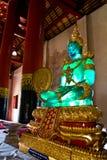 статуя изумруда Будды Стоковые Изображения