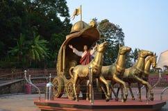 Статуя Иисуса Стоковое Изображение RF