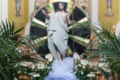 Статуя Иисуса Стоковое Изображение