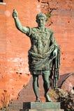статуя императора augusto римская Стоковые Изображения RF
